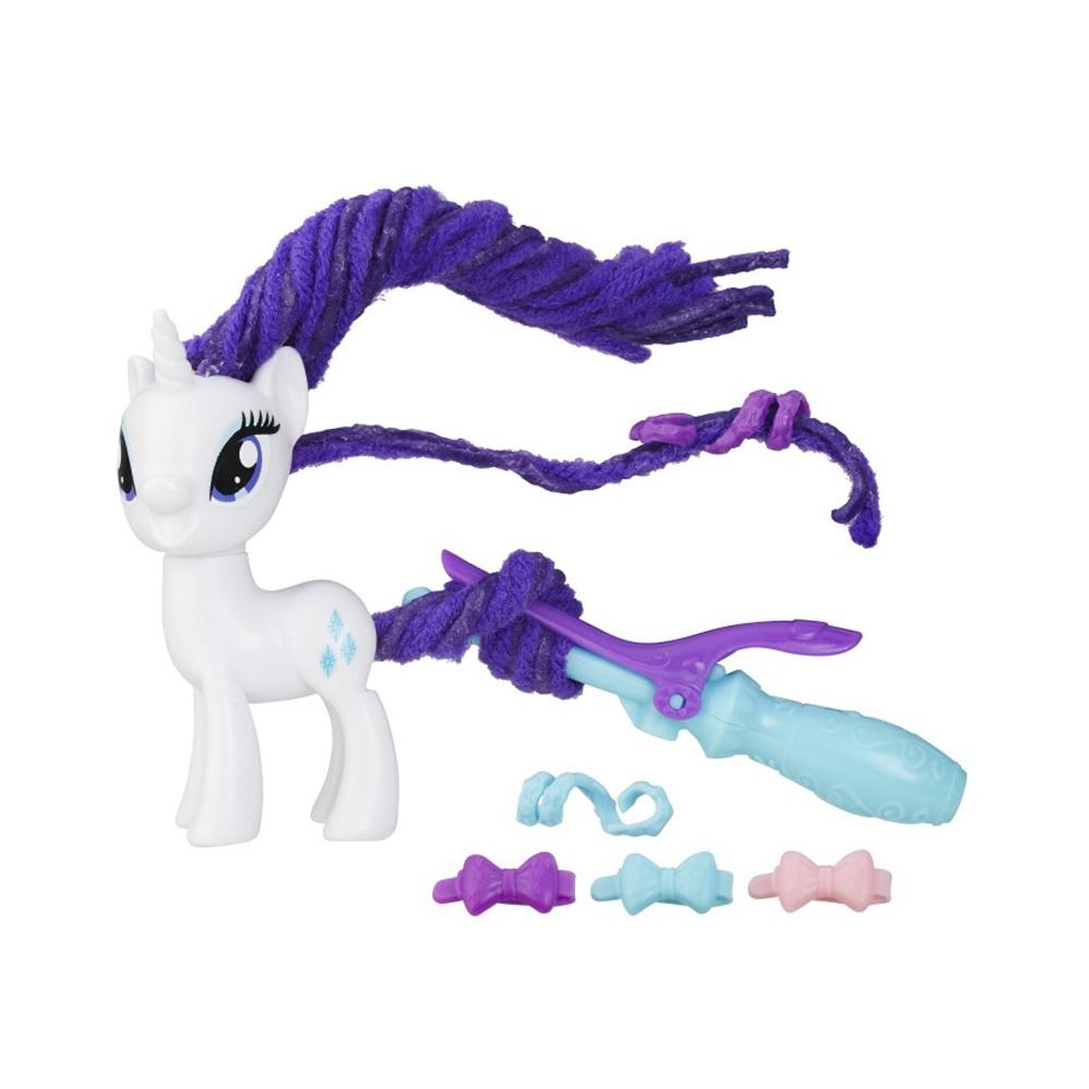 figurina my little pony coafuri de gala - rarity