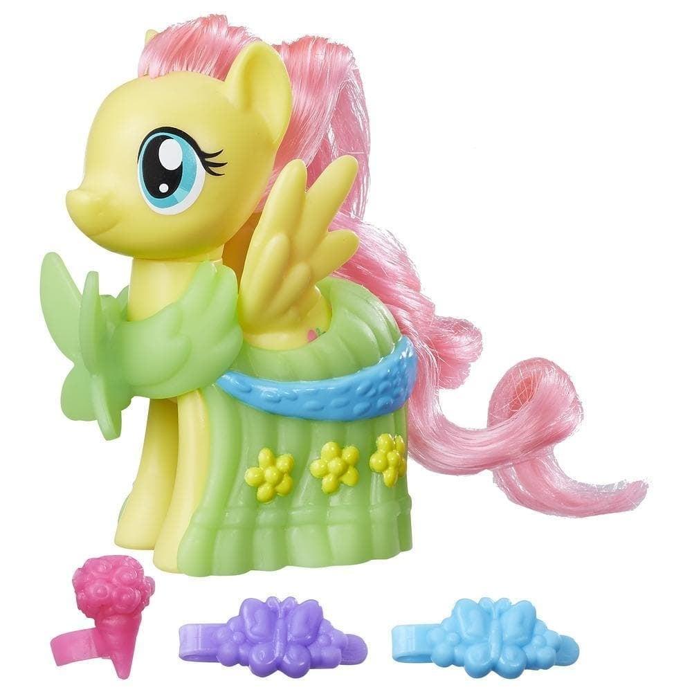 figurina my little pony cu accesorii de gala - fluttershy