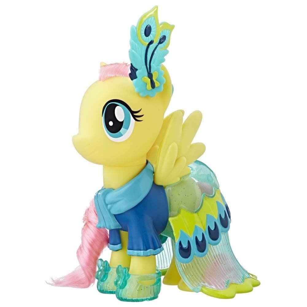 figurina my little pony cu tinute de gala - fluttershy