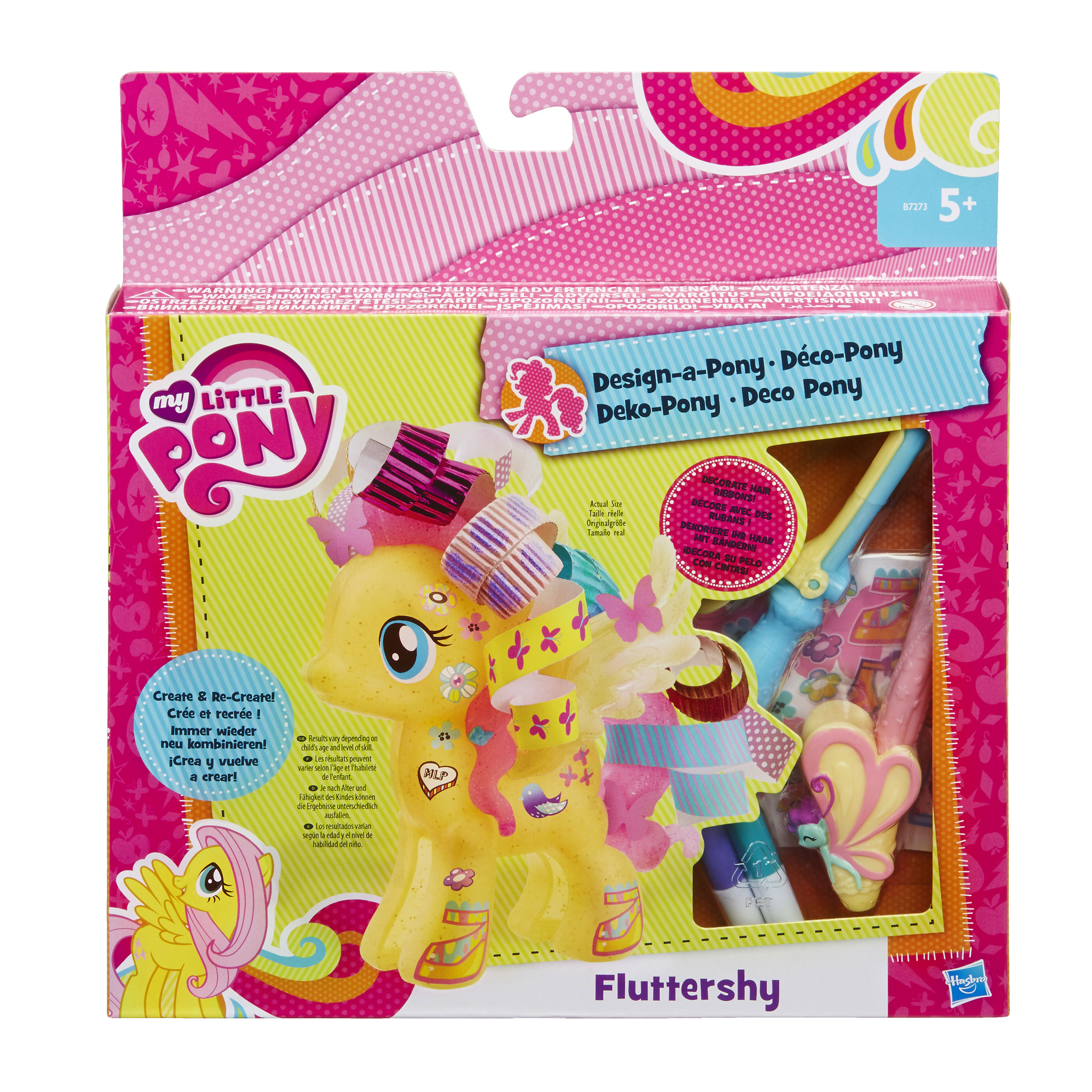 figurina my little pony design a pony - fluttershy