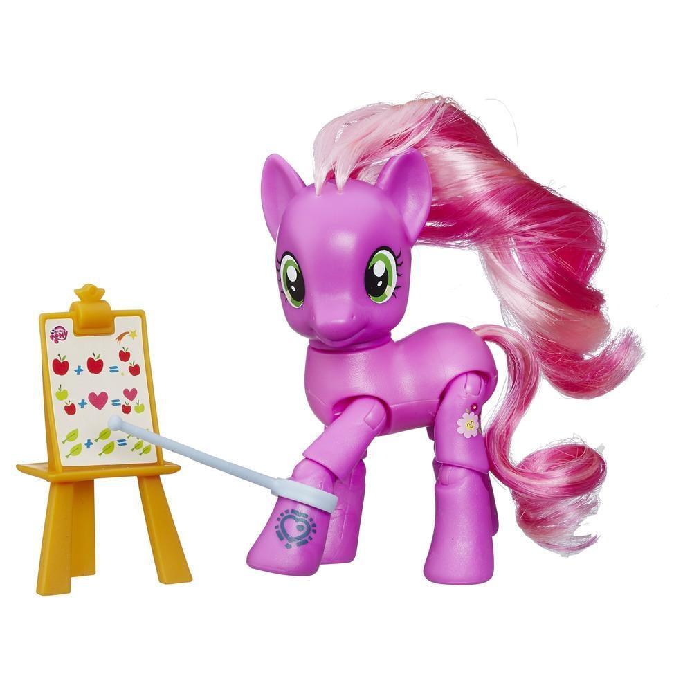 figurina my little pony explore equestria - cheerilee profesoara, 7.5 cm