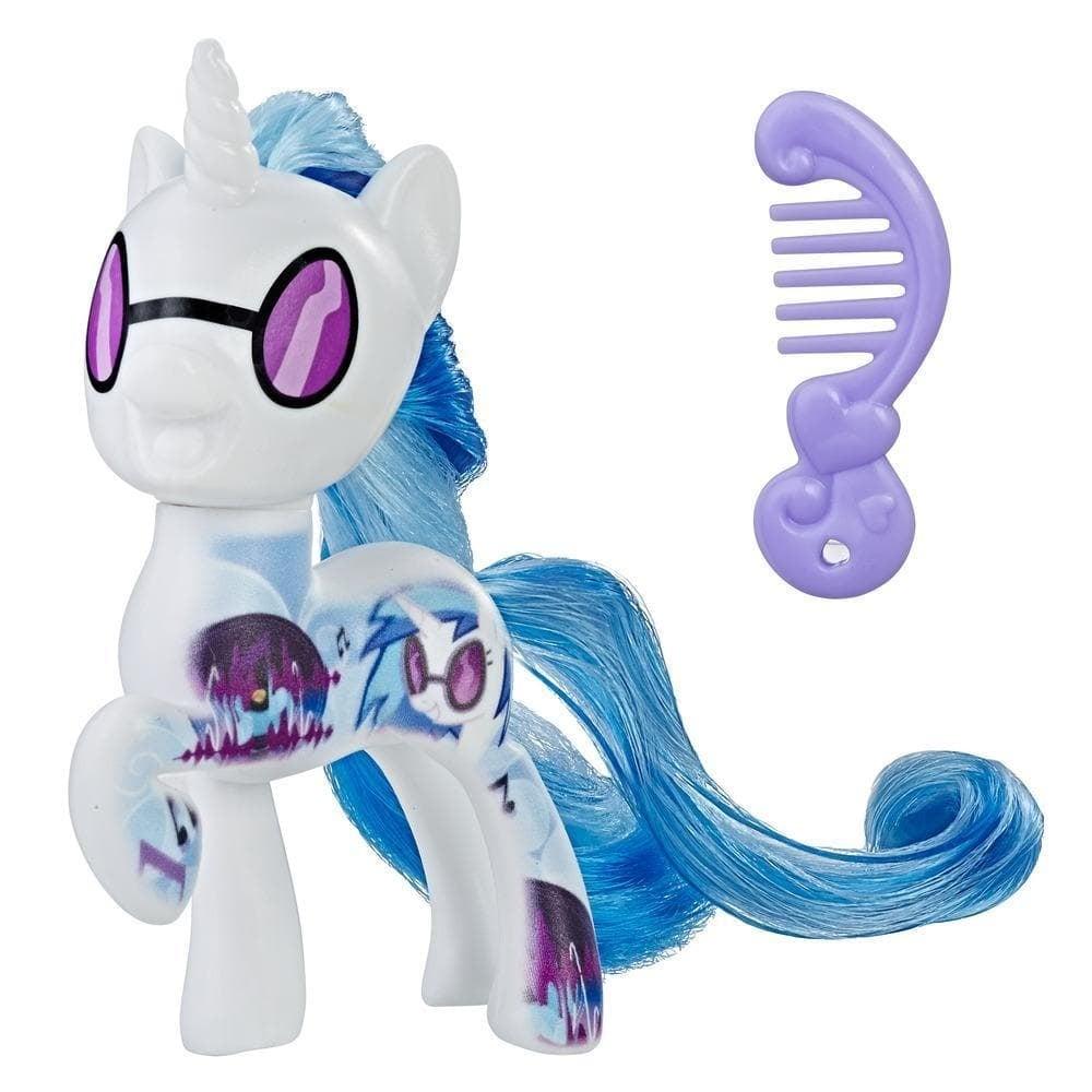 figurina my little pony friends - all about dj pon-3, 7.6 cm