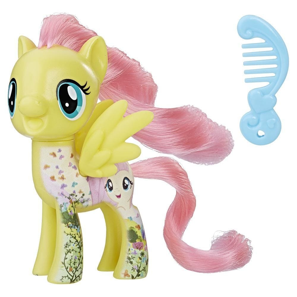 figurina my little pony friends - all about fluttershy, 7.6 cm