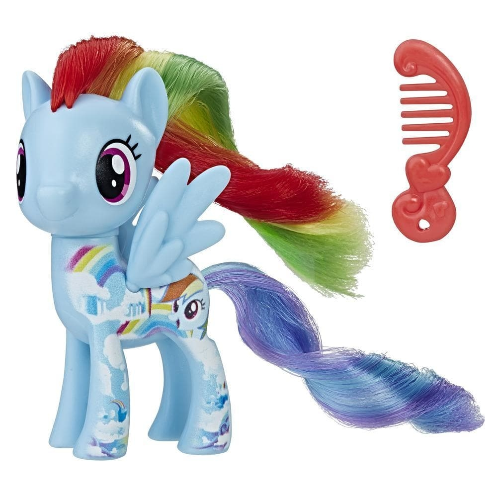 figurina my little pony friends - all about rainbow dash, 7.6 cm