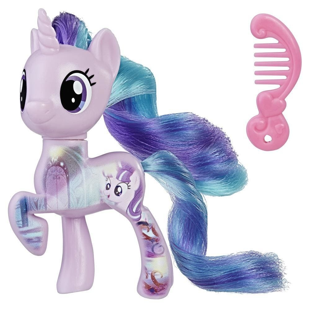figurina my little pony friends - all about starlight glimmer, 7.6 cm