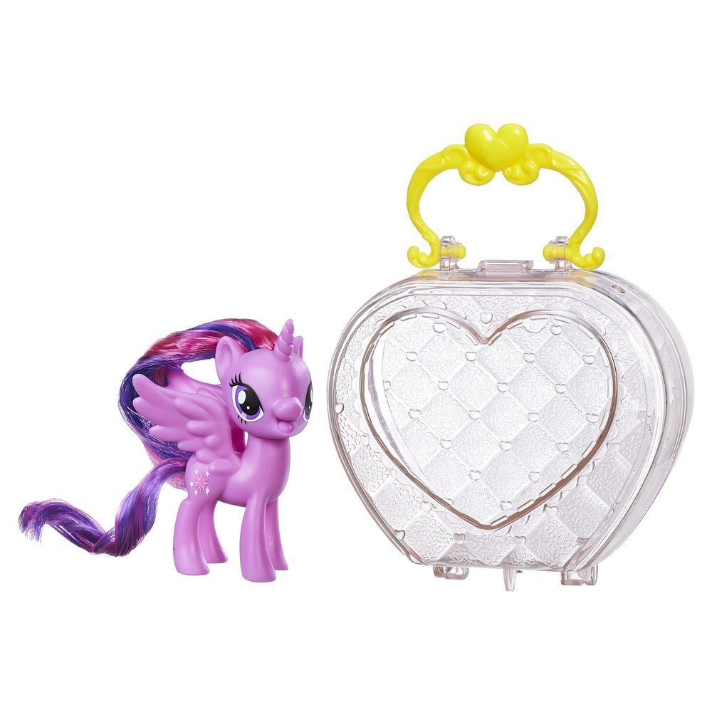 figurina my little pony friendship is magic - twilight sparkle in gentuta de calatorie