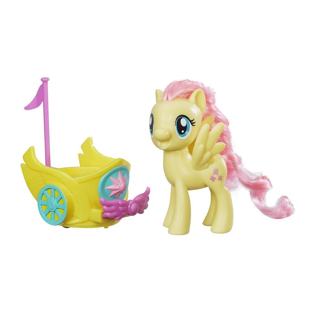 figurina my little pony friendship si magic - fluttershy si sareta regala