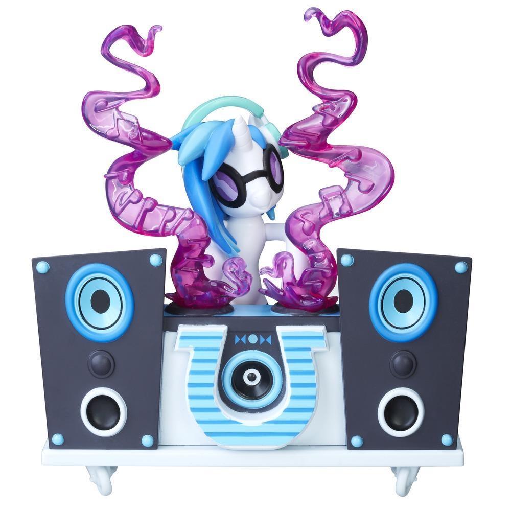 figurina my little pony gardienii armoniei - dj pon-3