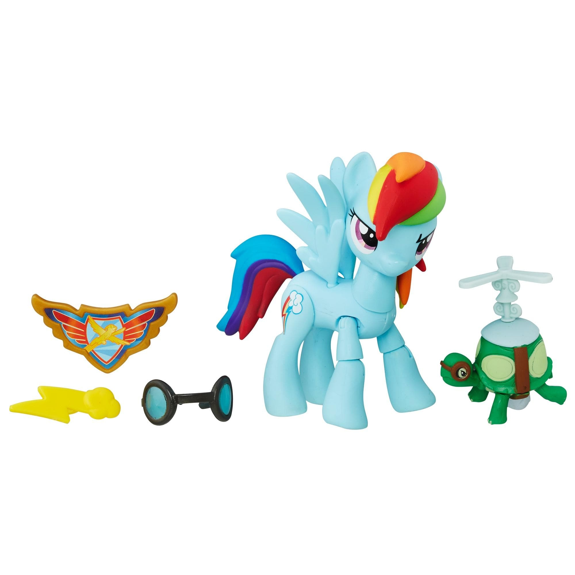 figurina my little pony gardienii armoniei - rainbow dash