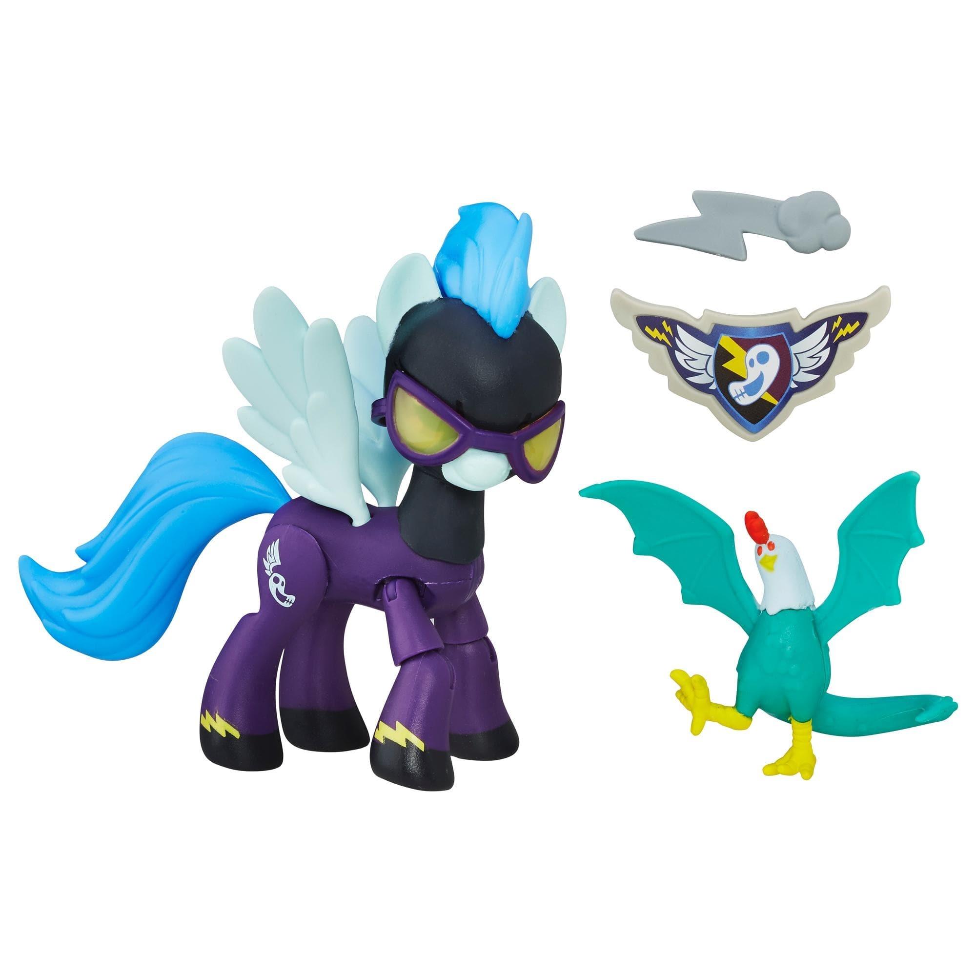 figurina my little pony gardienii armoniei - shadowbolts pony