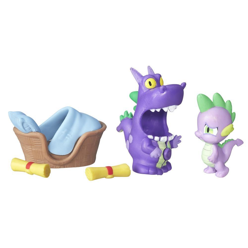 figurina my little pony nightmare night - spike the dragon