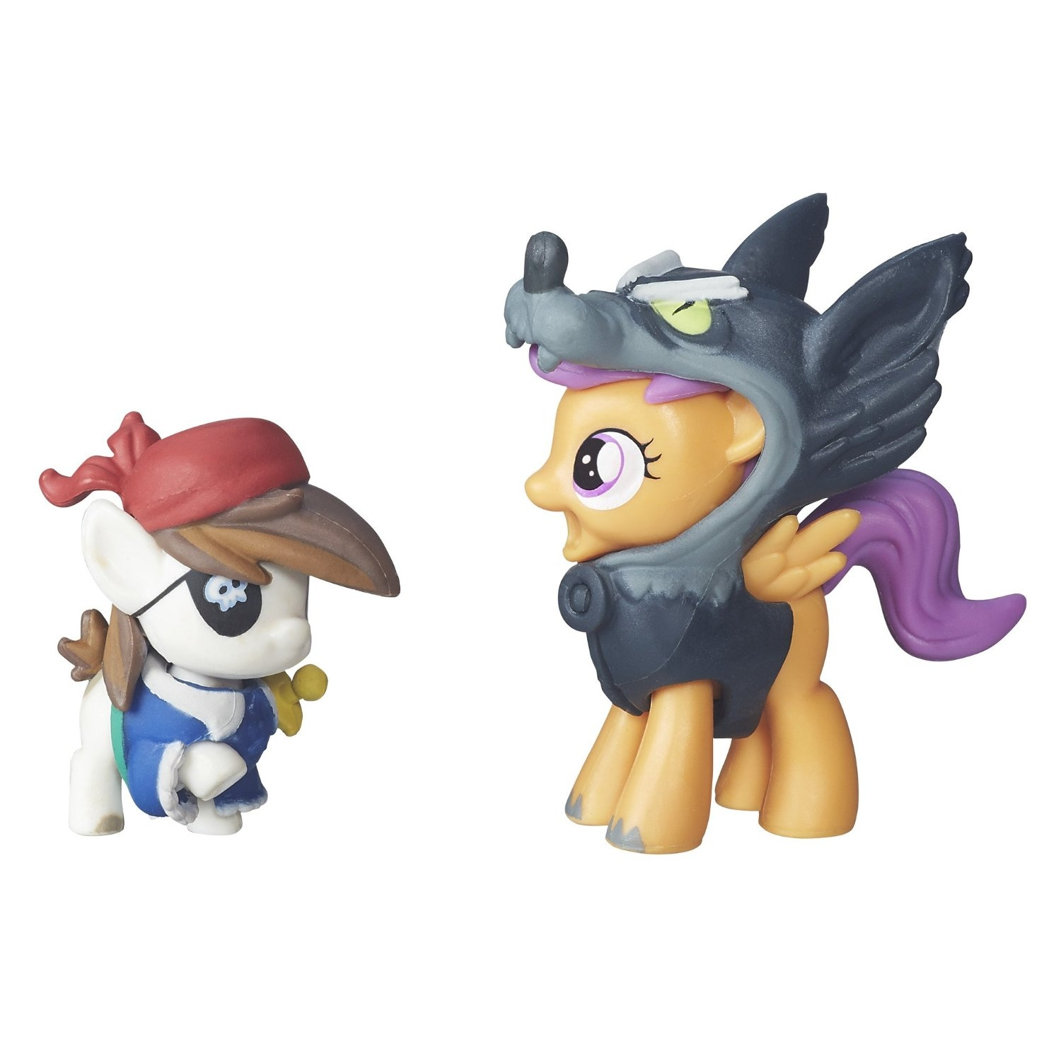 figurina my little pony nightmare night - squeak & scootaloo