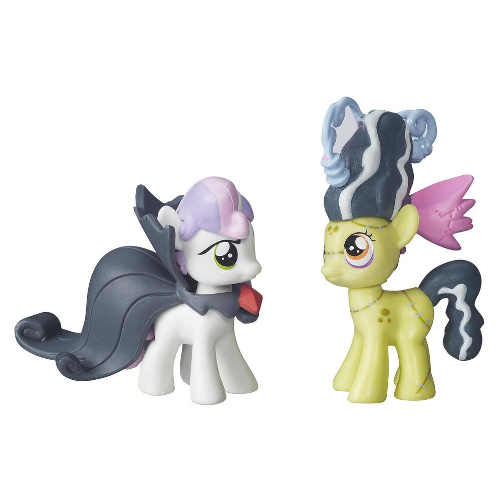 figurina my little pony nightmare night - sweetie belle & apple bloom