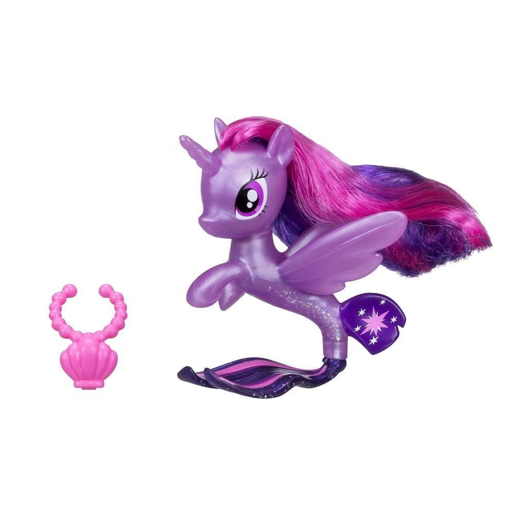 figurina my little pony ponei de mare cu colier - twilight sparkle