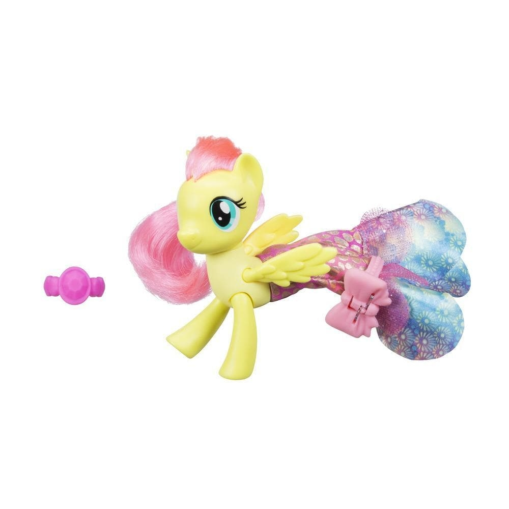 Figurina My Little Pony Ponei de mare cu rochita - Fluttershy