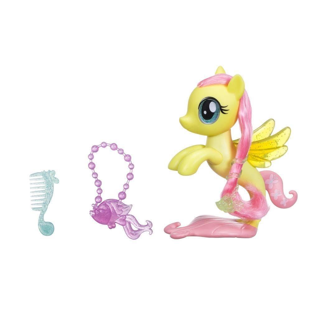figurina my little pony ponei de mare - fluttershy, 15 cm