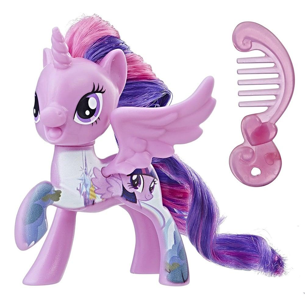 figurina my little pony - twilight sparkle cu pieptene