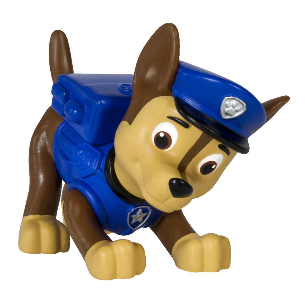 figurina paw patrol - chase politist, 6.6 cm