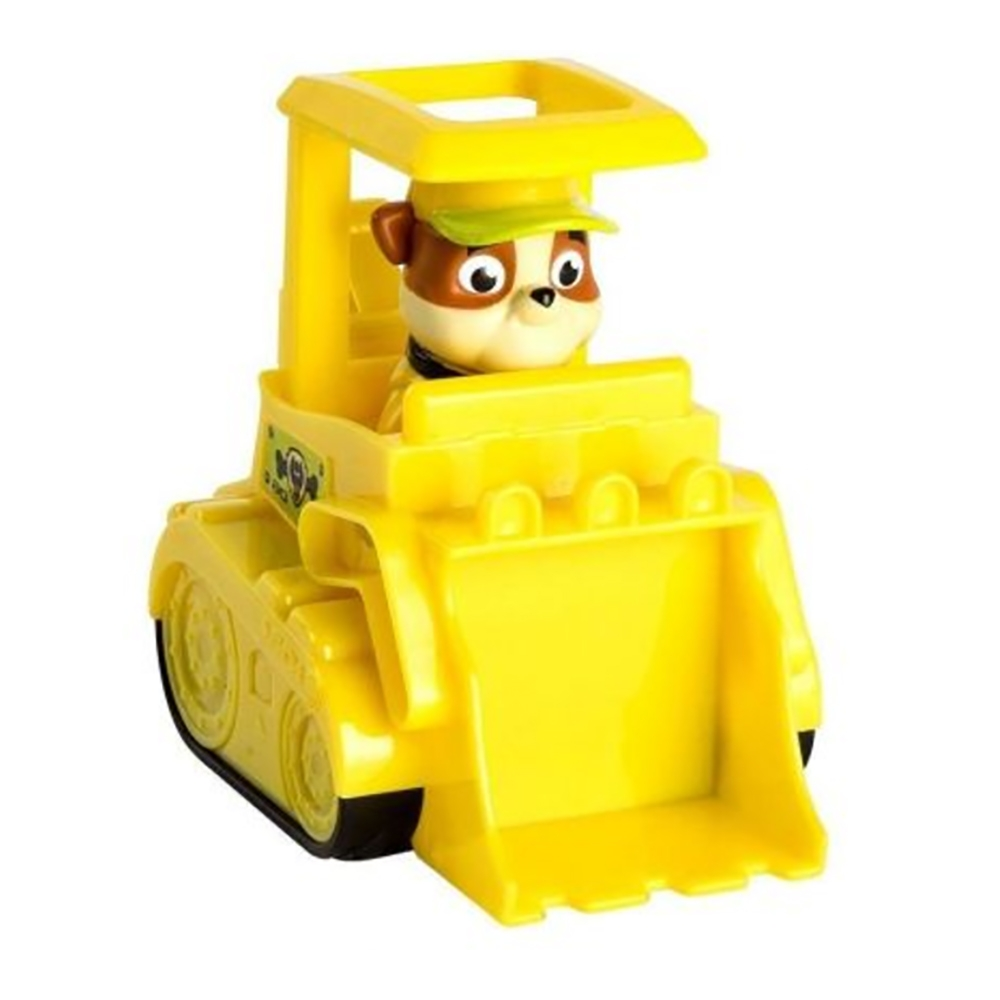 figurina paw patrol jungle rescue - buldozer si rubble