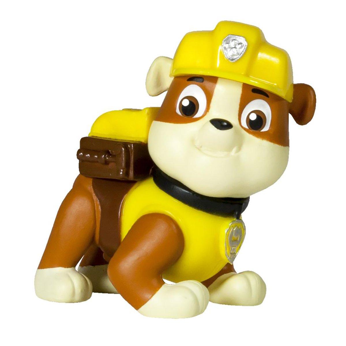 figurina paw patrol - rubble constructor, 6.6 cm