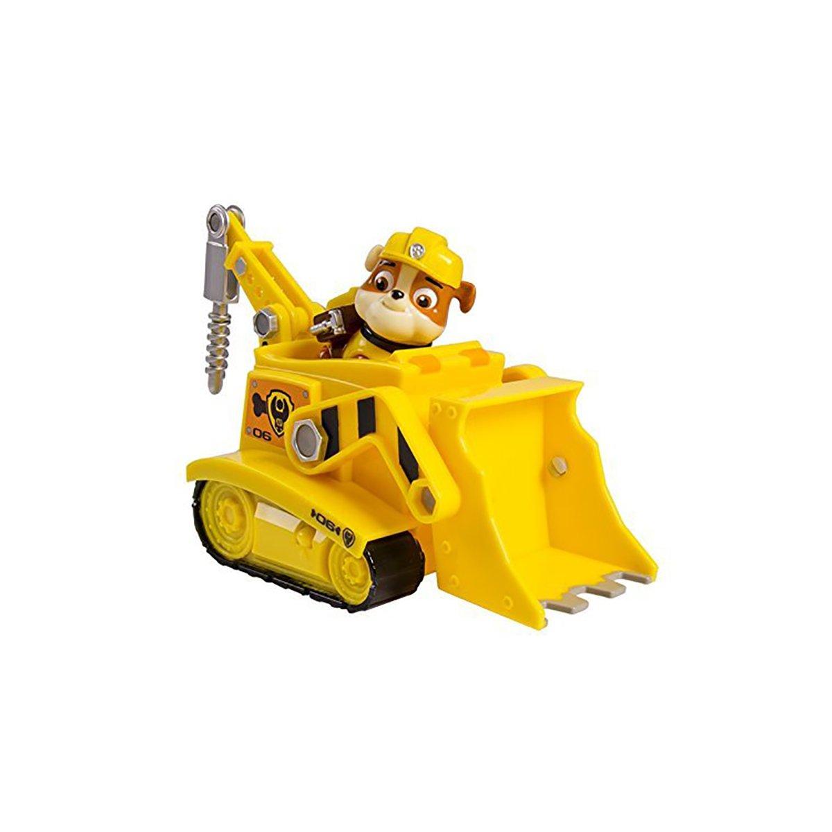 figurina paw patrol - rubble si buldozerul