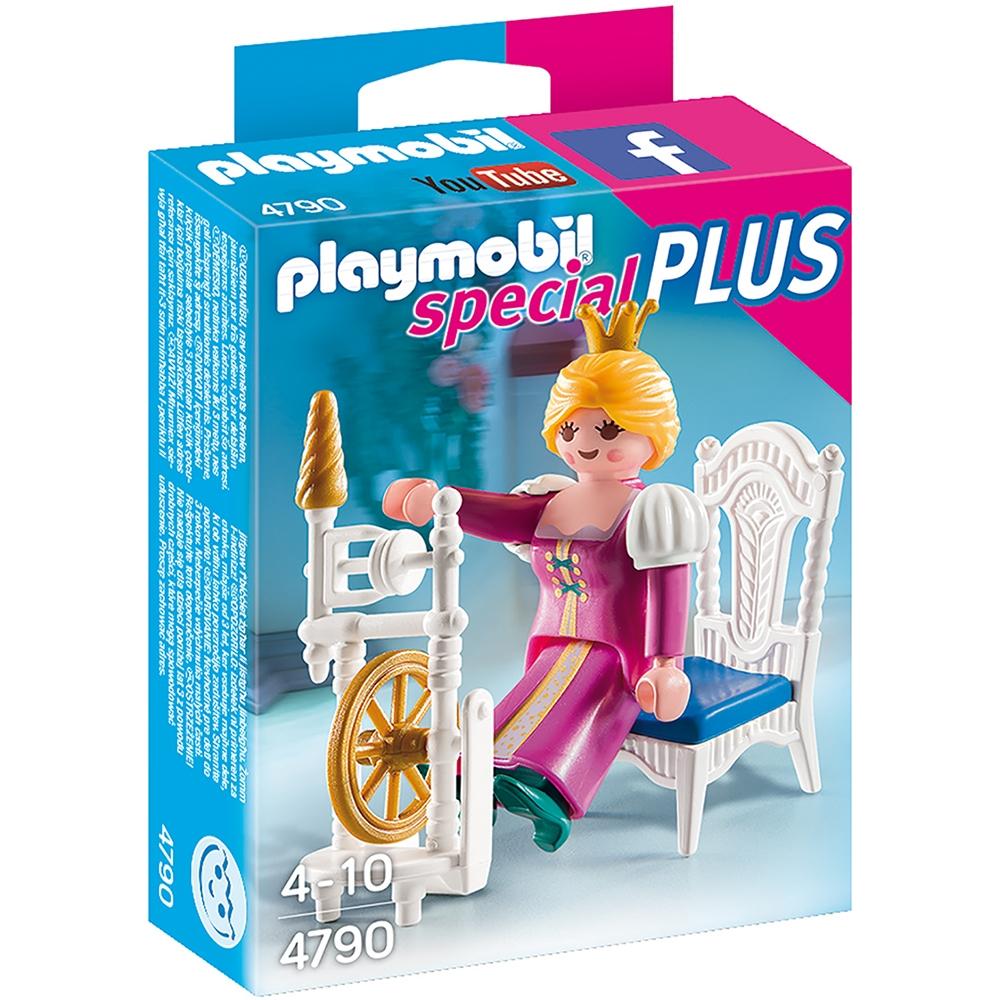 figurina playmobil special plus - regina cu masina de tesut (4790)