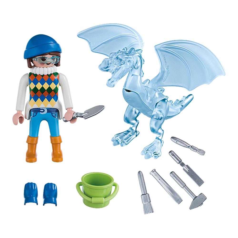figurina playmobil special plus - sculptor de gheata (5374)