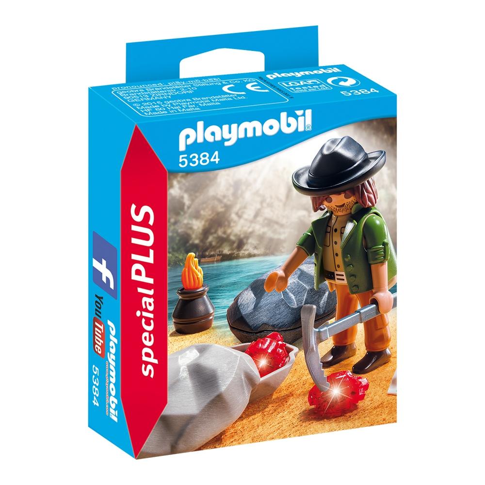 figurina playmobil special plus - vanatorul de bijuterii (5384)