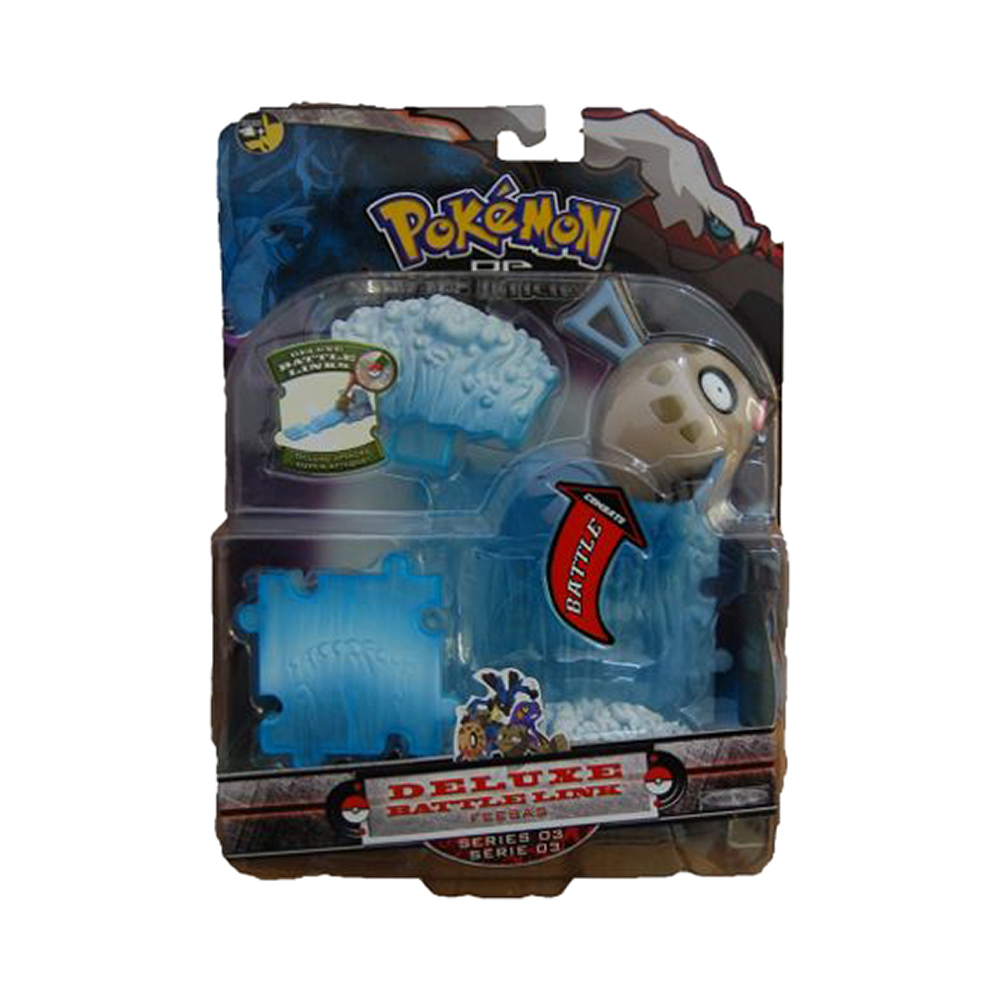 figurina pokemon deluxe battle link - feebas