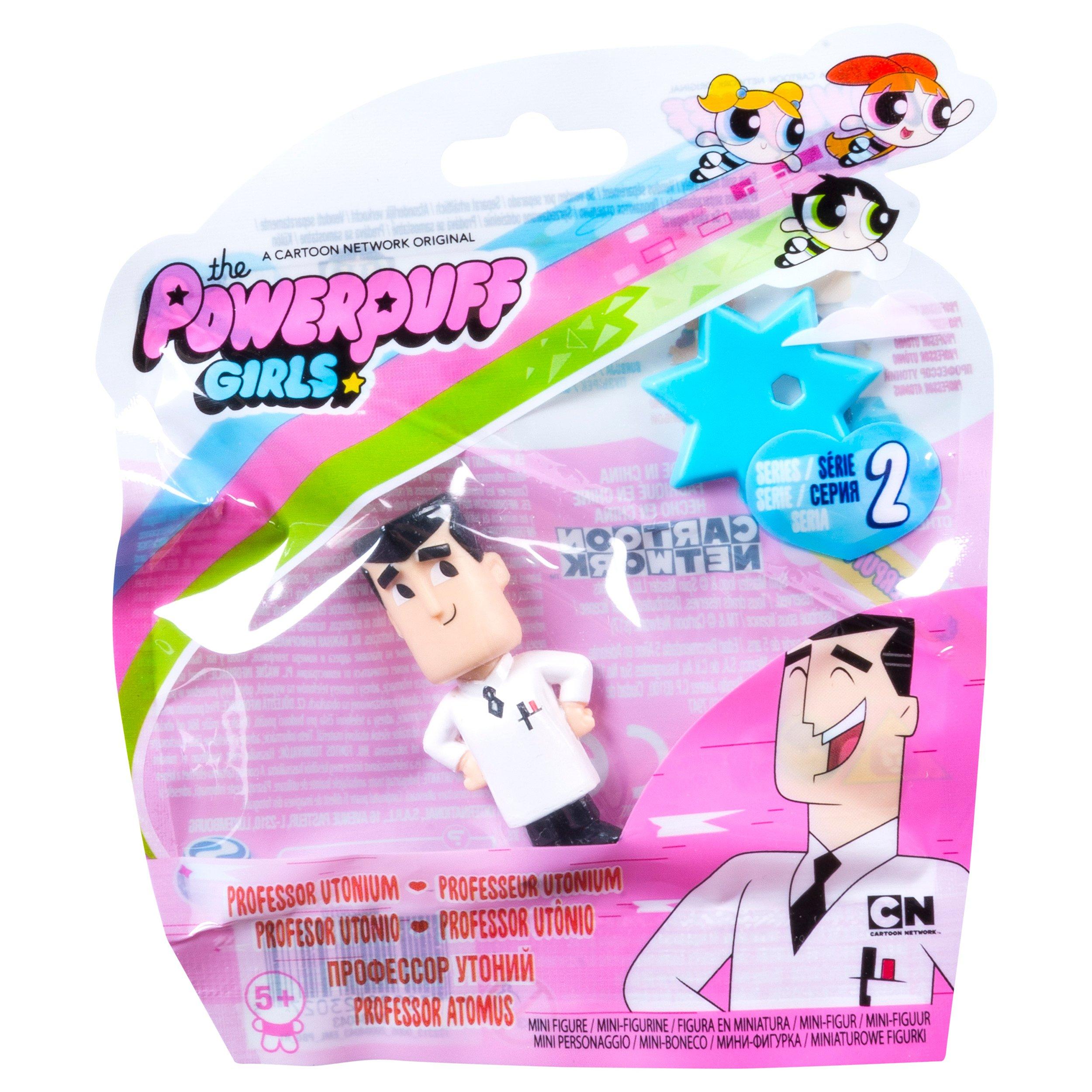 Figurina Powerpuff Girls Profesorul Utonium