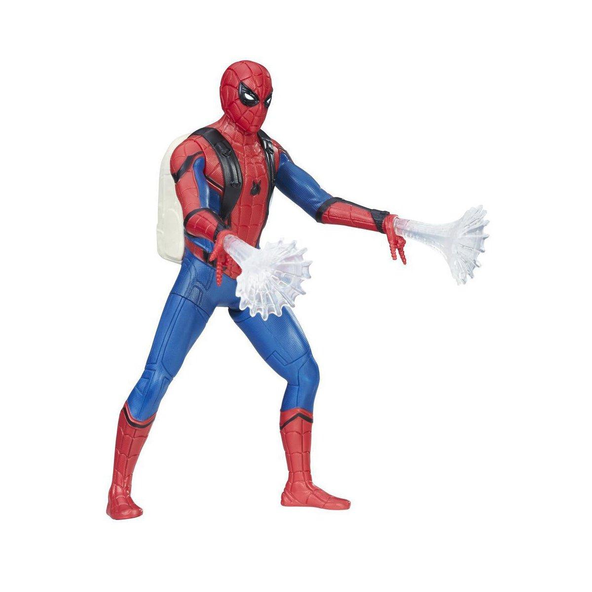 figurina spiderman homecoming - spiderman, 15 cm