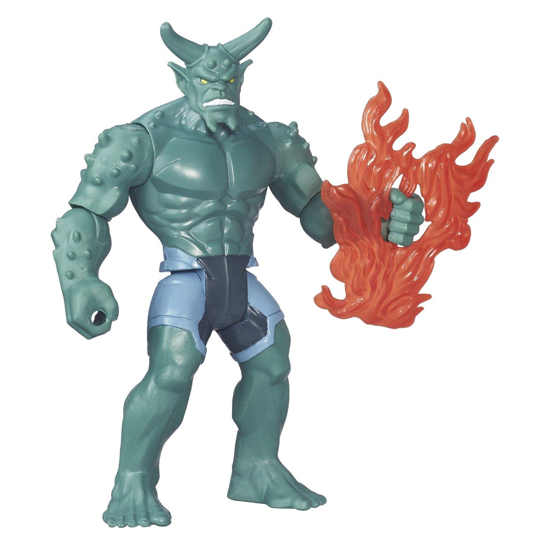 figurina spiderman marvel sinister 6 - green goblin, 15 cm