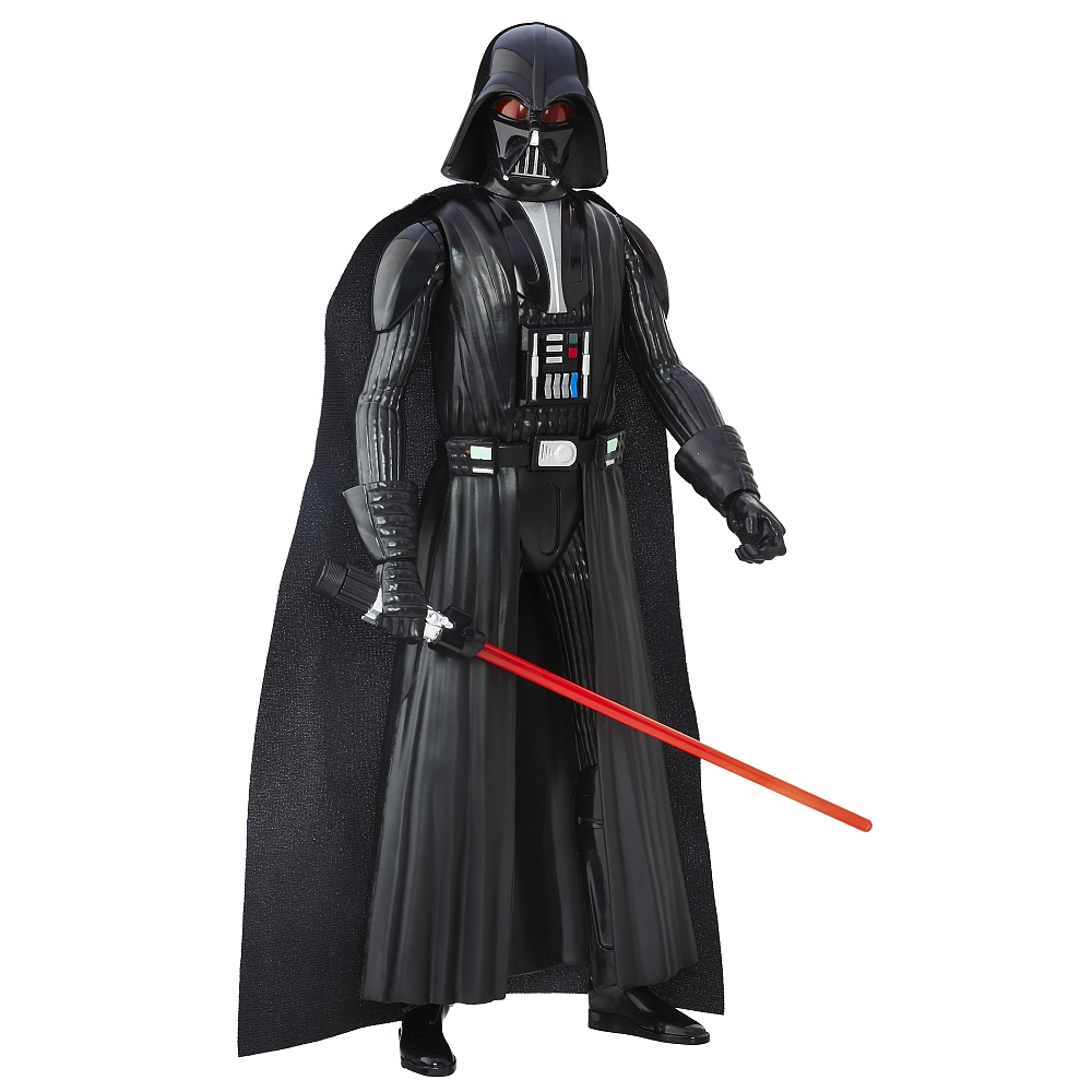 figurina star wars rebelii electronic duel - darth vader, 30 cm
