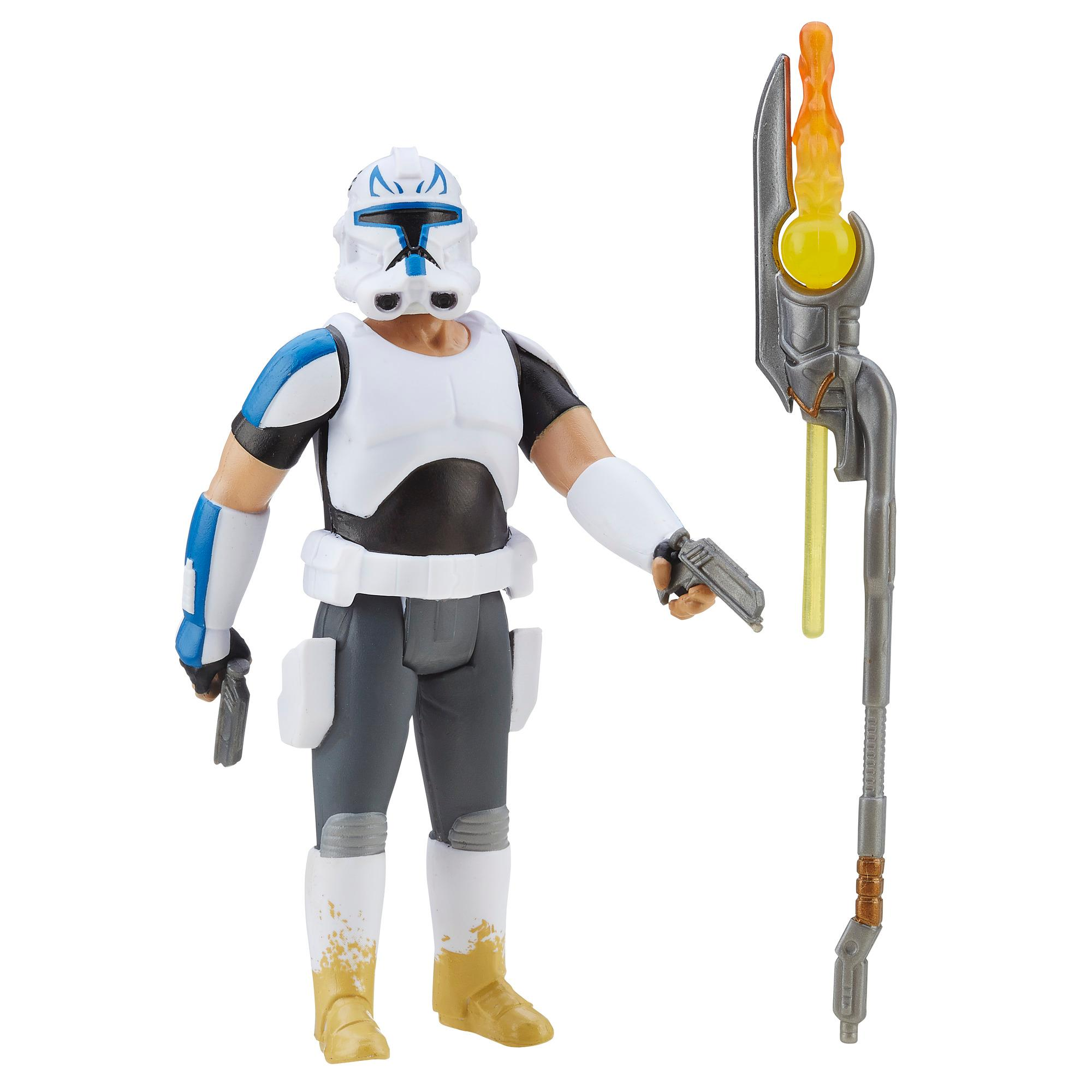 figurina star wars snow mission - capitanul rex, 9.5 cm