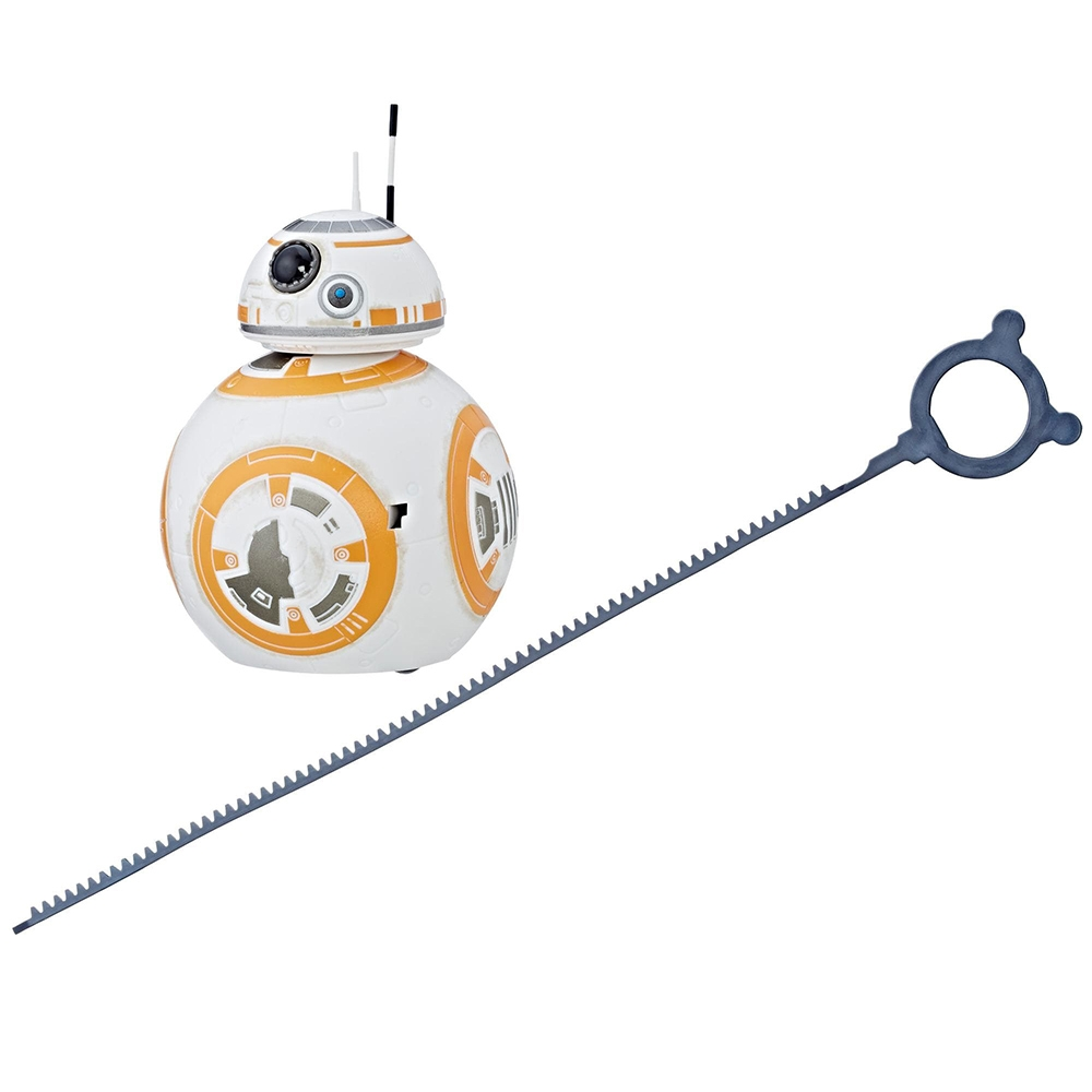 figurina star wars - ultimul jedi rip n go bb-8