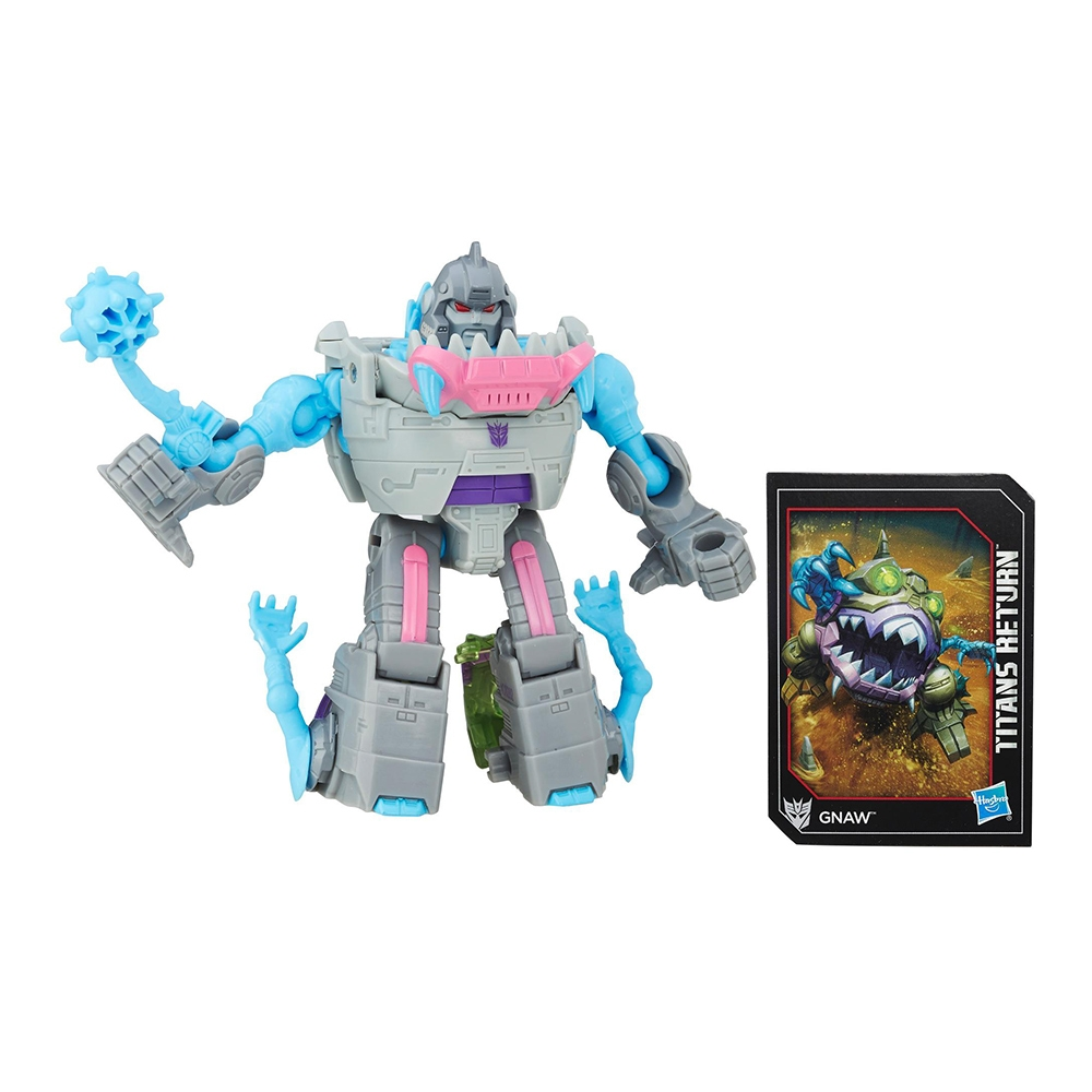 figurina transformers generations titans return legend class - gnaw, 10 cm