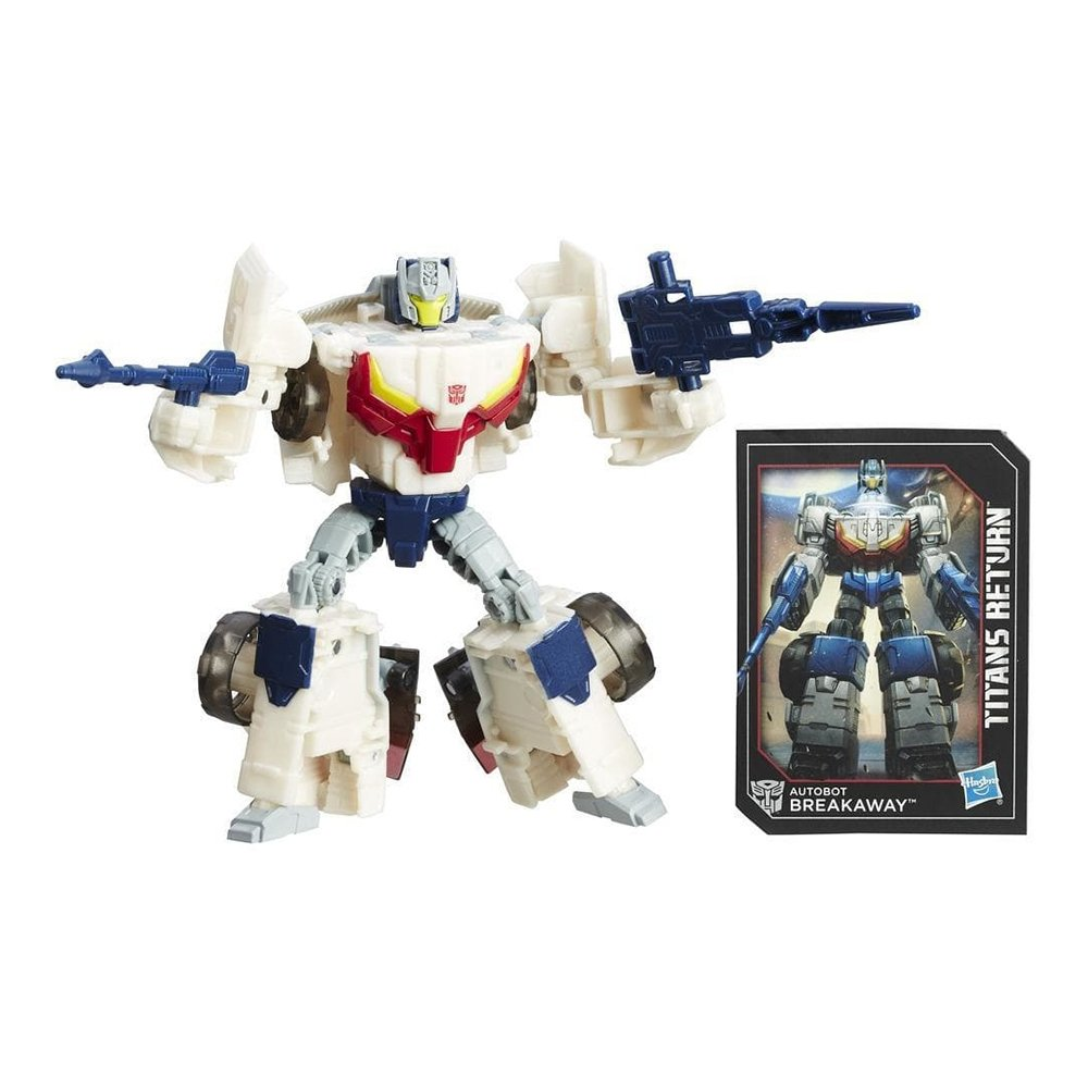 figurina transformers generations titans return titan master - autobot breakaway si autobot throttle