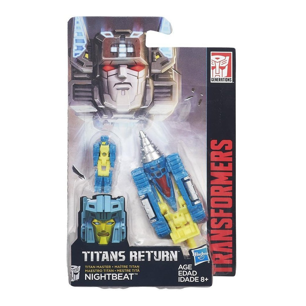 Poza Figurina Transformers Generations Titans Return Titan Master - Nightbeat
