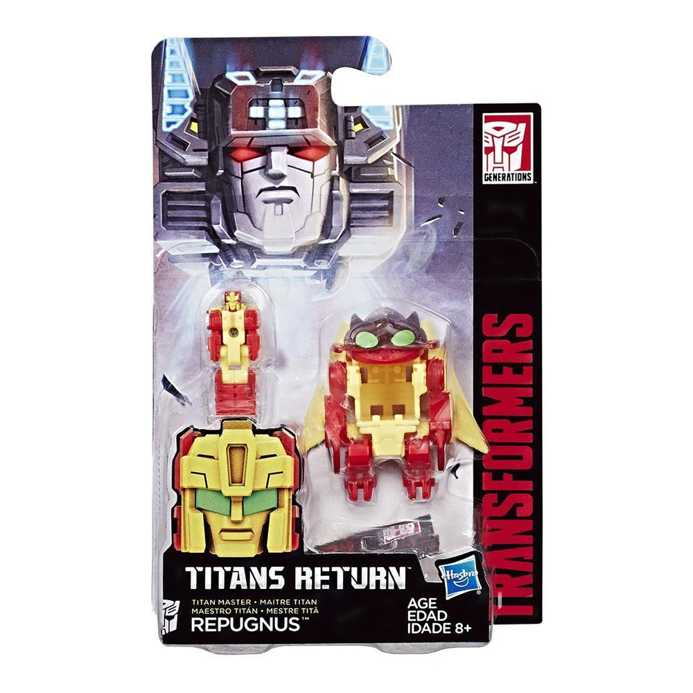 Figurina Transformers Generations Titans Return Titan Master - Repugnus