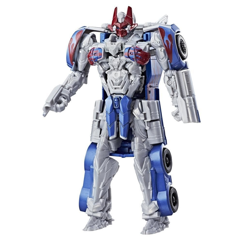 figurina transformers the last knight armor - optimus prime