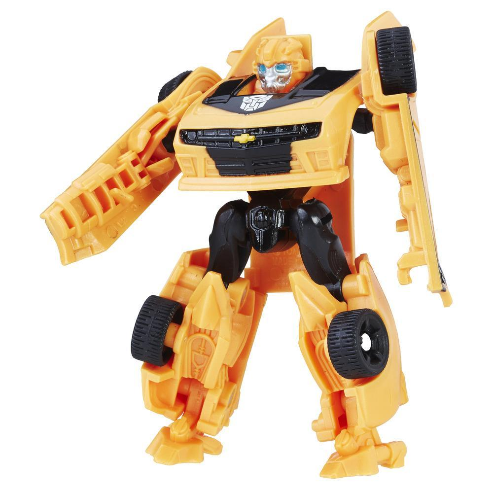 figurina transformers the last knight legion class - bumblebee