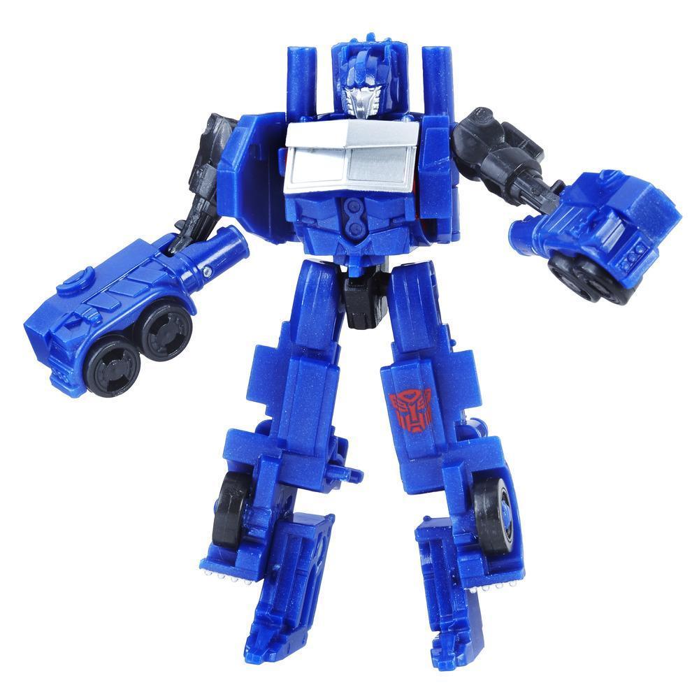 figurina transformers the last knight legion class - optimus prime