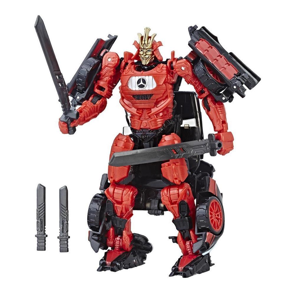 figurina transformers the last knight premier edition deluxe - autobot drift, 14 cm