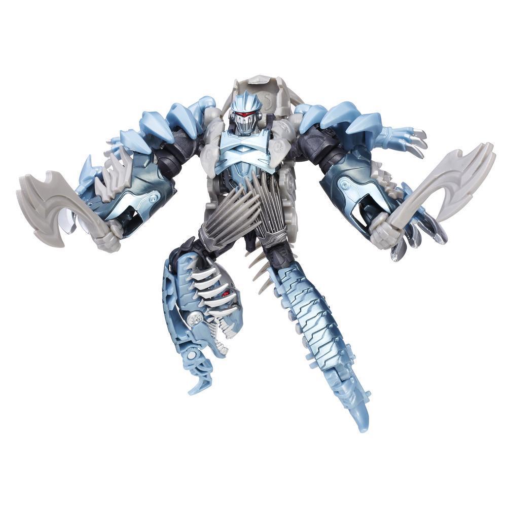 figurina transformers the last knight premier edition deluxe - dinobot slash, 11 cm
