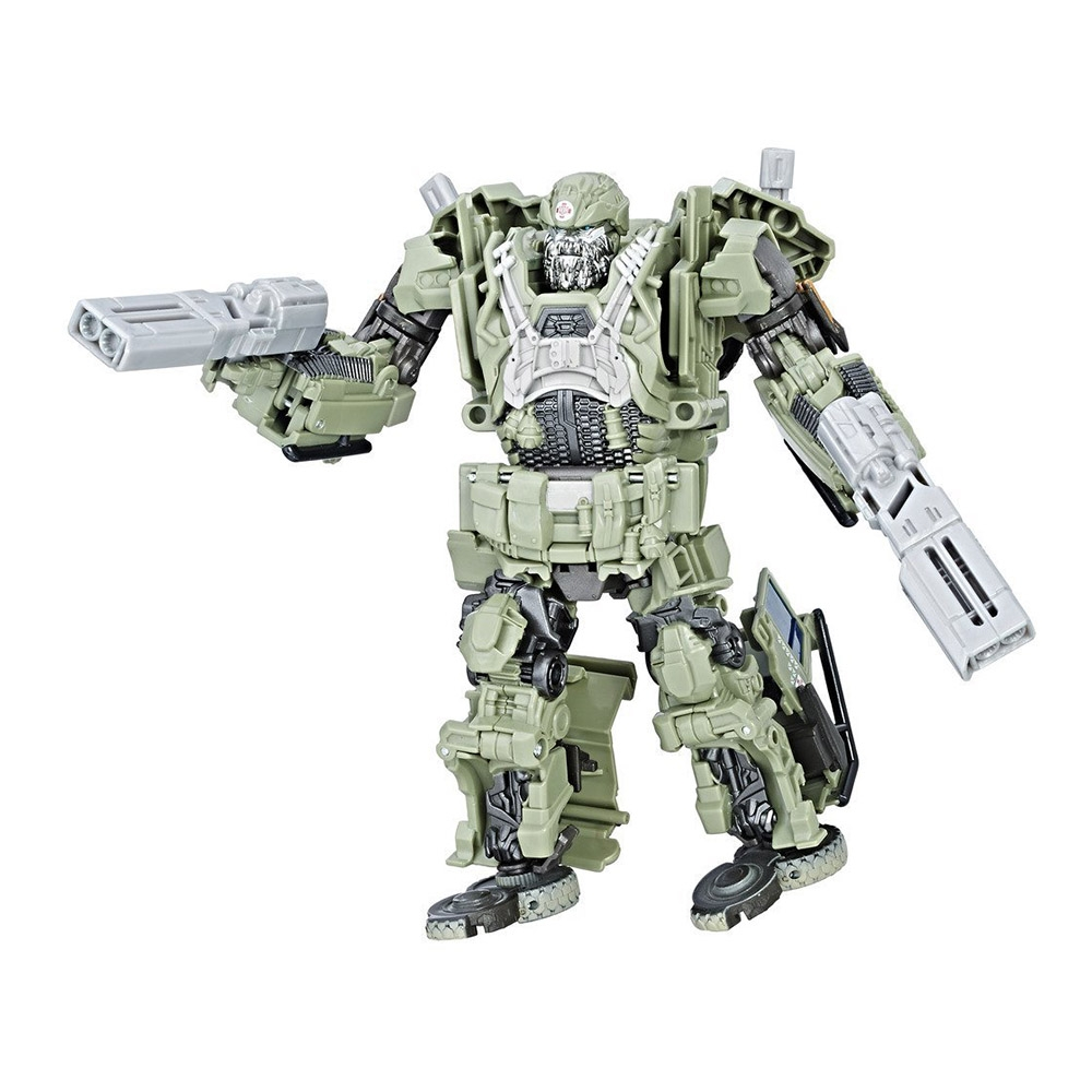 figurina transformers the last knight premier edition voyager class - autobot hound