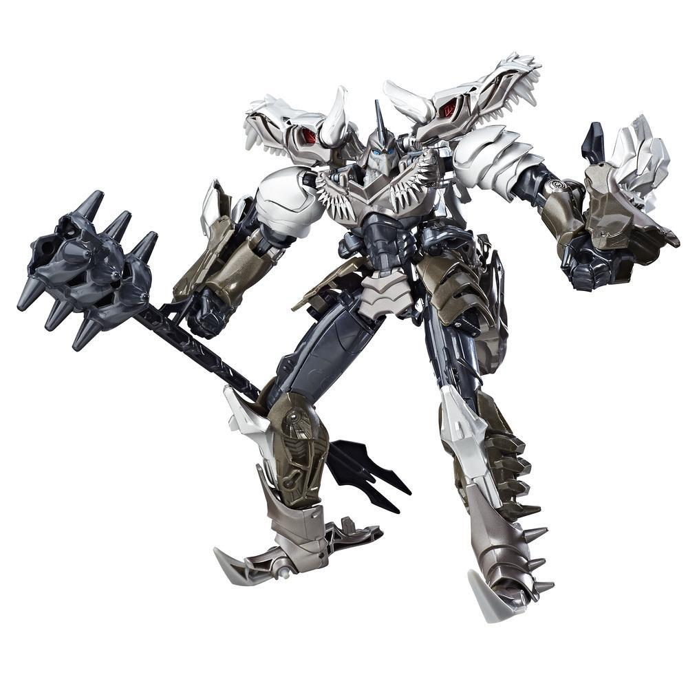 figurina transformers the last knight premier edition voyager class - grimlock