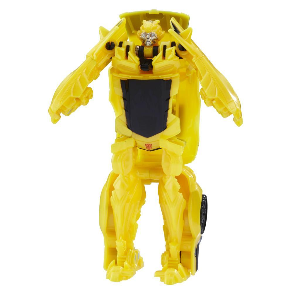 figurina transformers the last knight turbo changers - bumblebee