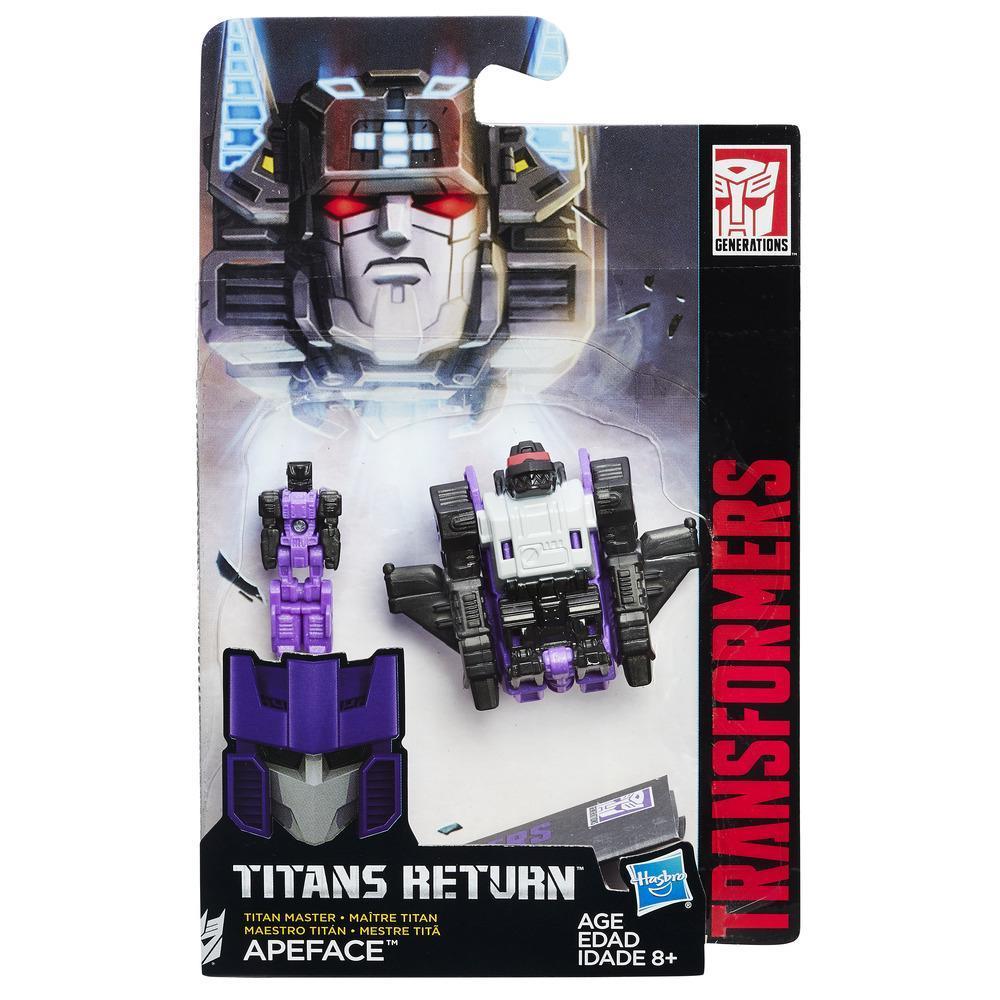 Figurina Transformers Titan Master - Apeface