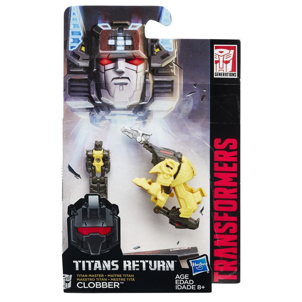 Figurina Transformers Titan Master - Clobber