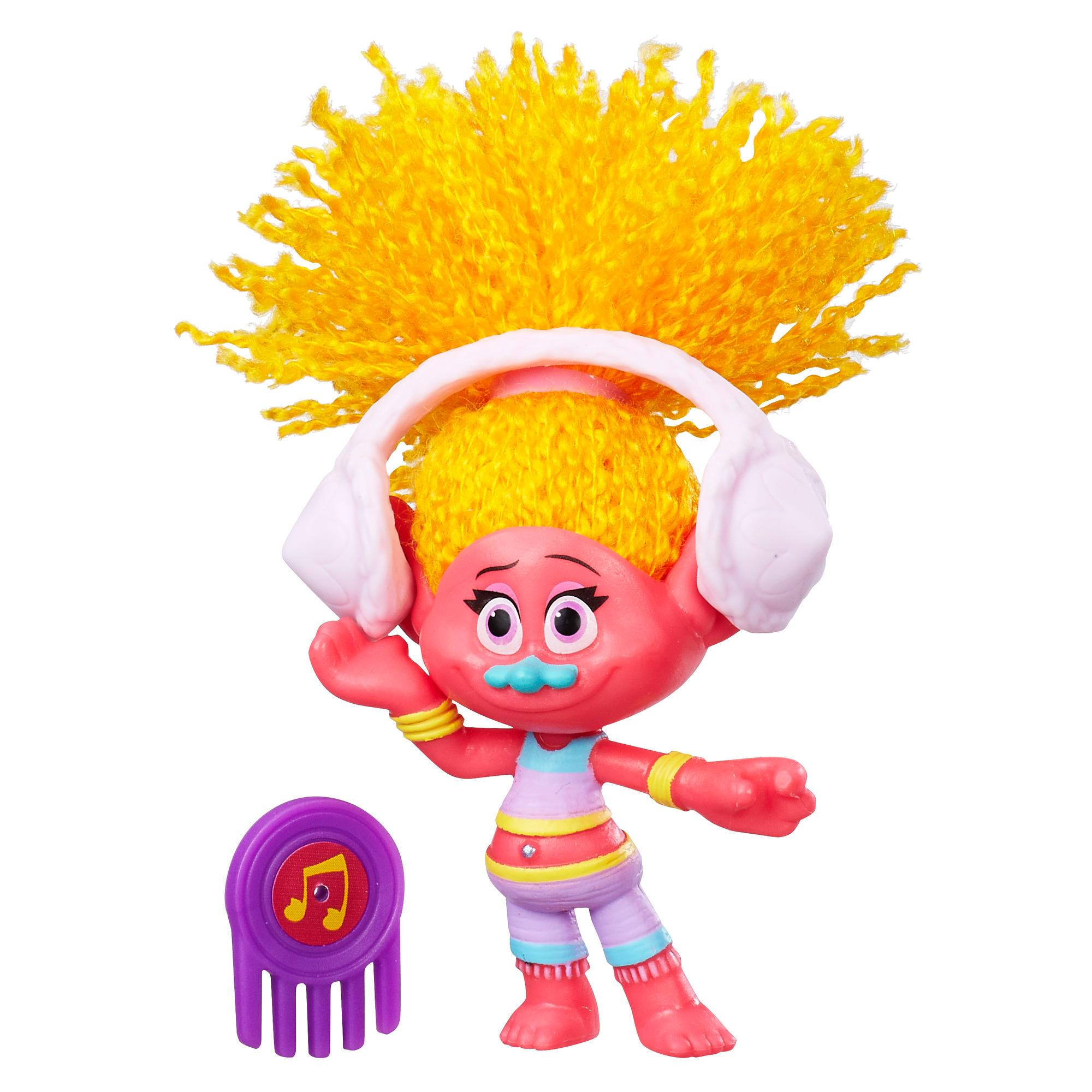 figurina trolls - dj suki, 10 cm